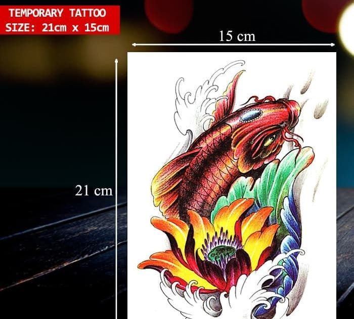 Gambar Tato Ikan Terbaru 93 Gambar Tato Ikan Koi Terbaru Tato Adalah Sebuah Seni Gambar Tingkat Tinggi Yang Di Implementasikan Ke Tato Ikan Koi Gambar Tato