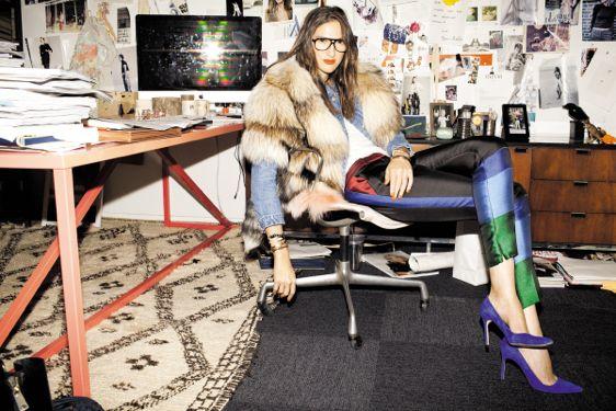 Jenna Lyons: Service Magazines, Fashion Icons, J Crew, Style Icons, Jennalyon, Jenna Lyons, Fashion Blog, Jcrew, Offices Chic