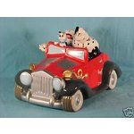 Cruella Deville in Her Car | eBay Image 1 Disney, 101 Dalmations, Cruella Deville Car, Cookie Jar