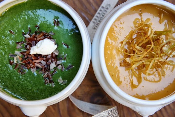 Orange and Green Soup
