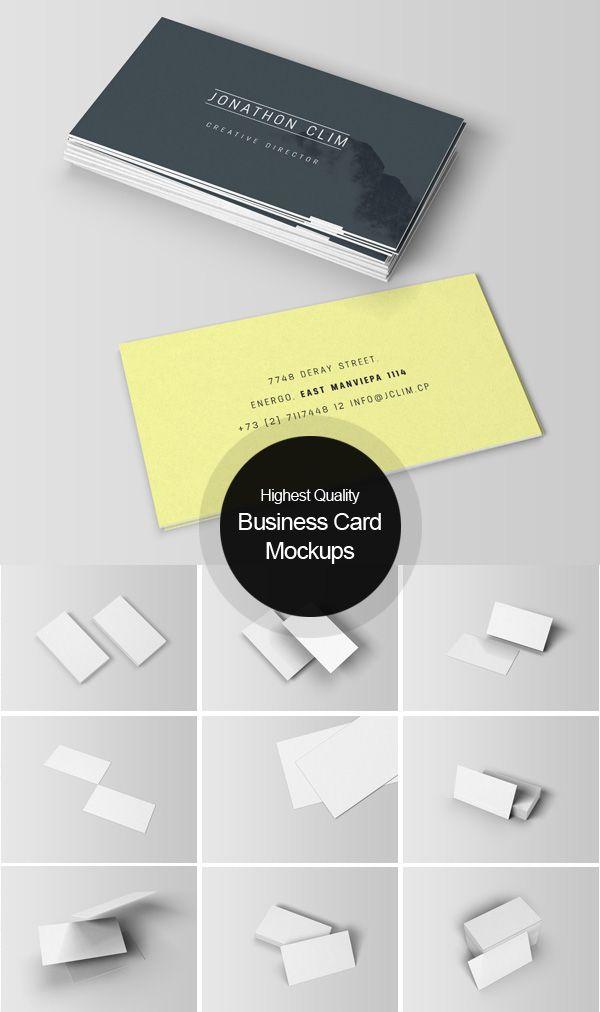 28 best Great Mockups For Business Cards images on Pinterest ...