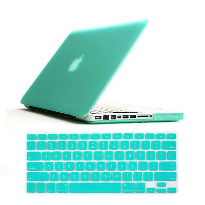 "Laptop Rubberized Hard Case Keyboard Skin for Apple Mac Book Air Pro 11"" 13"""" 