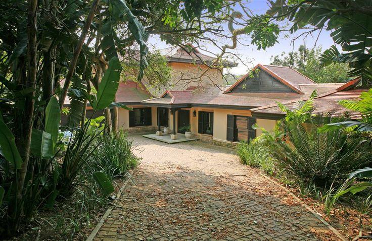 Beachwood 6, Luxury Villa, Zimbali Coastal Resort, KwaZulu Natal, South Africa. Entrance. #southafricanholiday