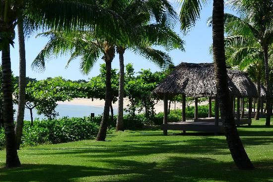 InterContinental Fiji Golf Resort & Spa: beach cabanas