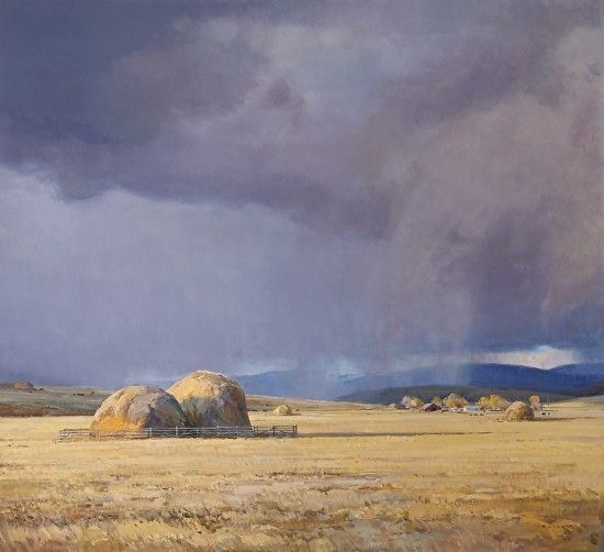 Shifting Seasons by Josh Elliott Oil ~ 42 x 46