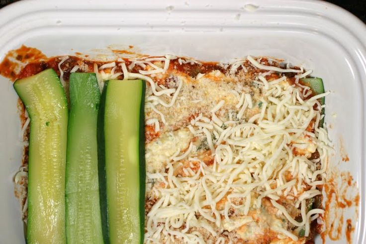 Yummy - made this Zucchini lasagna today (except I used yellow squash) - Coll was surprised how good it was given that there were no noodles - just squash!  It seems fairly low carb, too!  Great way to use up all that summer squash laying around!
