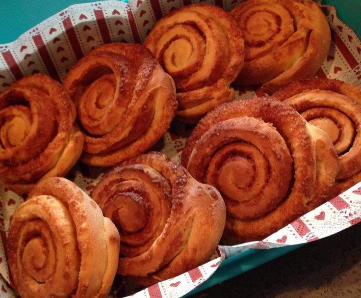 Cinnamon rolls - con il Bimby