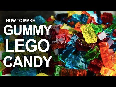 How to Make Lego Gummies – Finally, Food You CAN Actually Play With! - DIY & Crafts