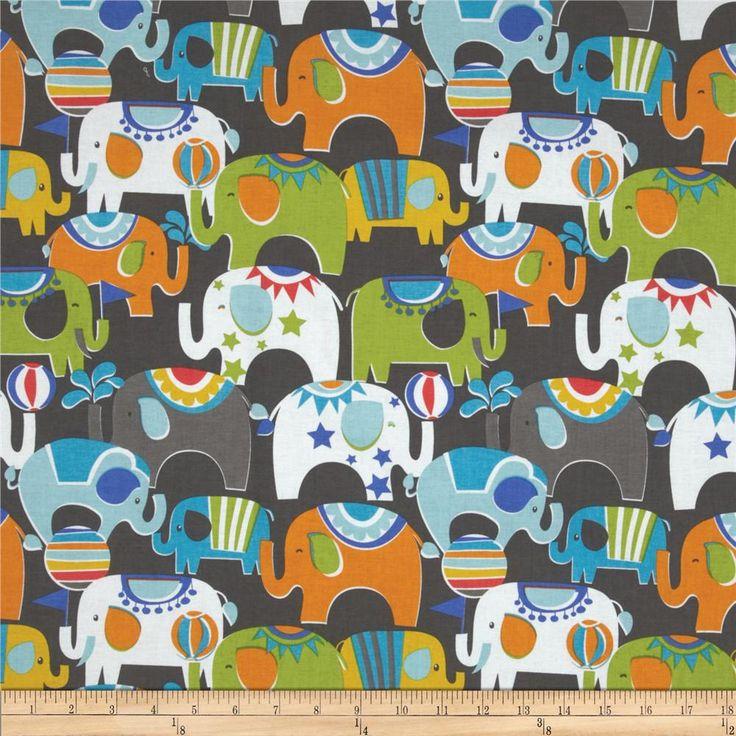 Bailey Caravan Blue - Discount Designer Fabric - Fabric.com