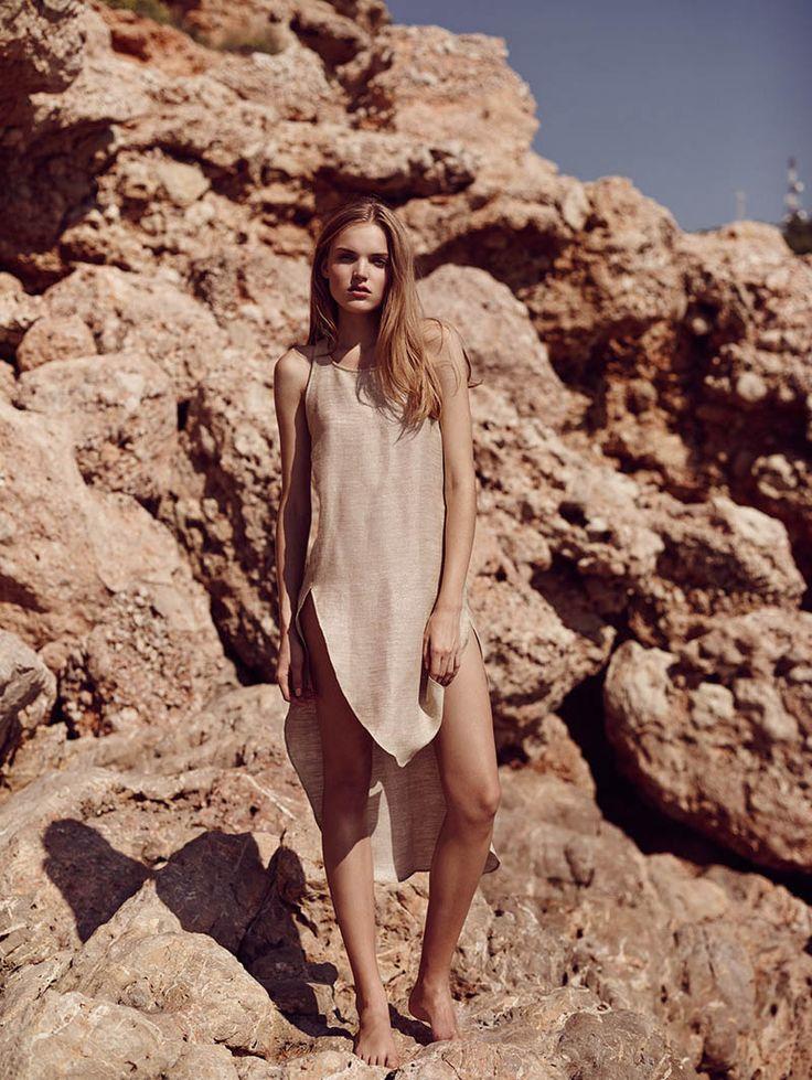 Ania Yudina by David Cohen de Lara in Neutral State for Fashion Gone Rogue