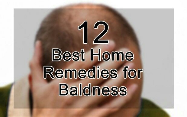 12 Best Home Remedies for Baldness Some of the home remedies for baldness include coffee, coriander juice, mustard oil, henna leaves, coconut milk, amla, shikakai, reetha, lemon, black pepper seeds, pepper, and curds. Baldness, also known as alopecia, is the condition in which hair is lost abruptly and are not replaced again. It is characterized by patchy areas of skin without hair. LEARN MORE: https://goo.gl/xlc7r3
