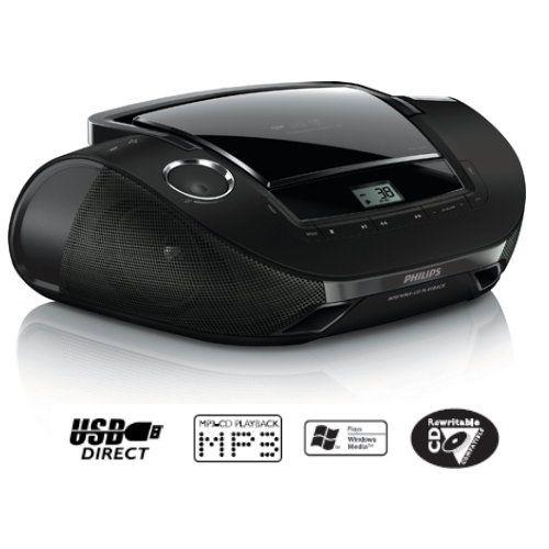 (送音樂CD)飛利浦手提MP3/USB音響AZ1837 -PayEasy線上購物