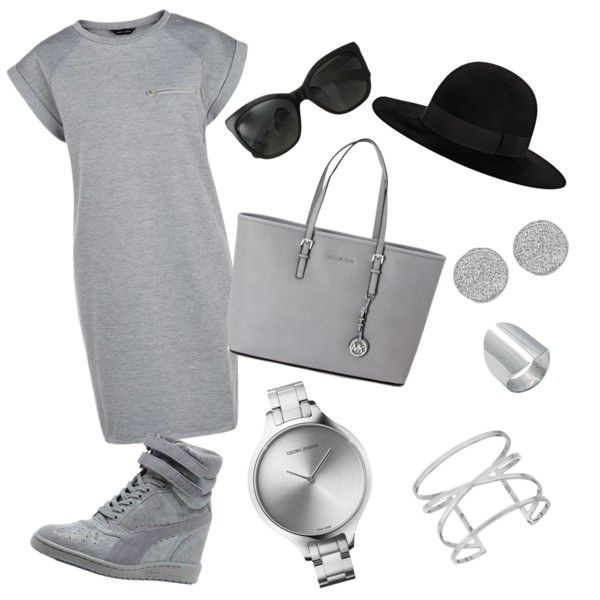 A fashion look from September 2015 featuring Puma sneakers, Michael Kors shoulder bags and Georg Jensen watches. Browse and shop related looks.