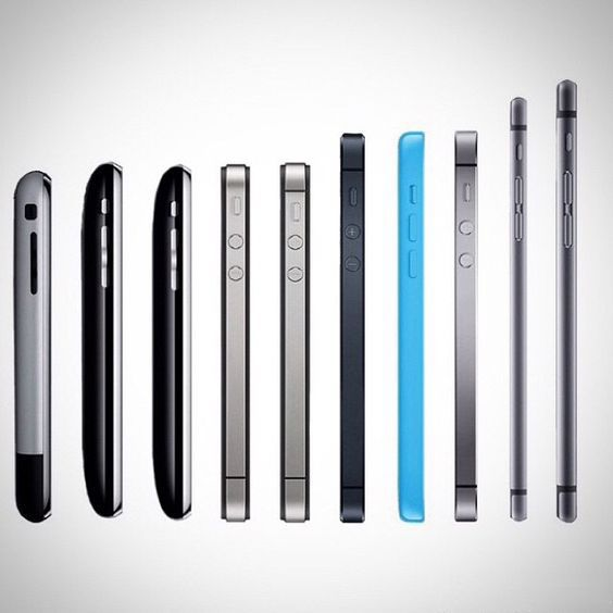 iphone evolution | industrial design | Pinterest | Evolution and ...