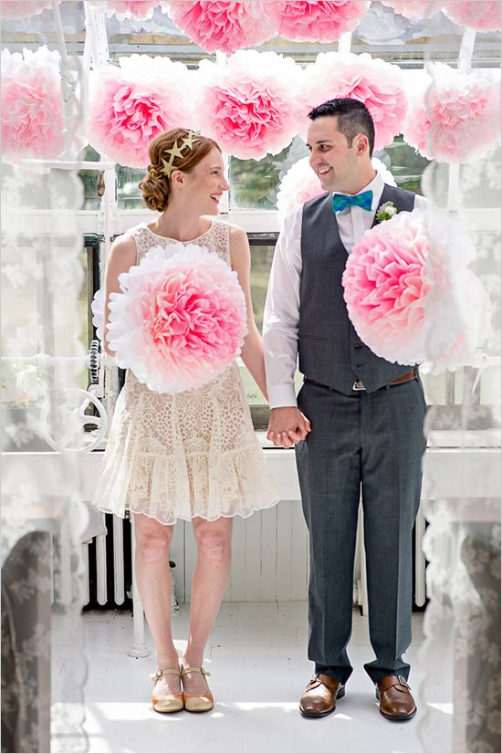 135 best party pom poms images on pinterest paper pom poms sunroom mountain wedding tissue paper pom poms diytissue solutioingenieria Images