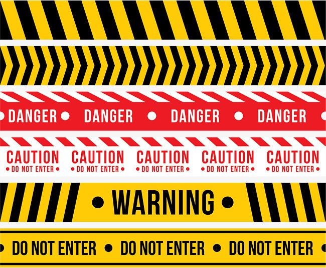 Yellow Black Warning Line Black Vector Line Vector Yellow Cordon Png And Vector With Transparent Background For Free Download Yellow Black Yellow Black