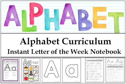 Alphabet Printables and Resources for Letter of the Week activities. Free Alphabet Worksheets, Coloring Pages, Mini Books, Games, Handwriting, Art and More!