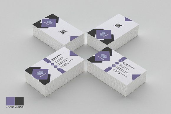 Business Card Template 06 by BdThemes on @creativemarket