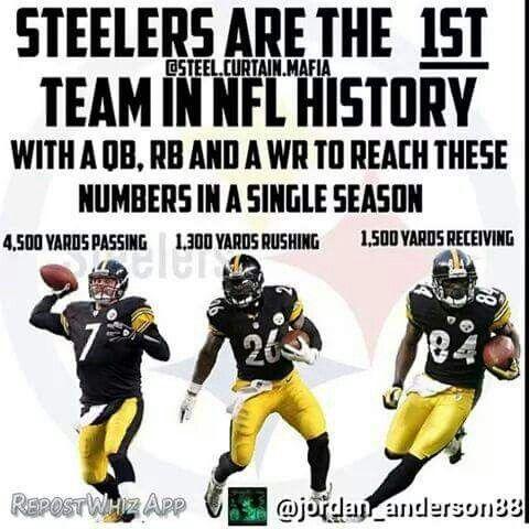 Steelers Make NFL History!!                                                                                                                                                                                 More