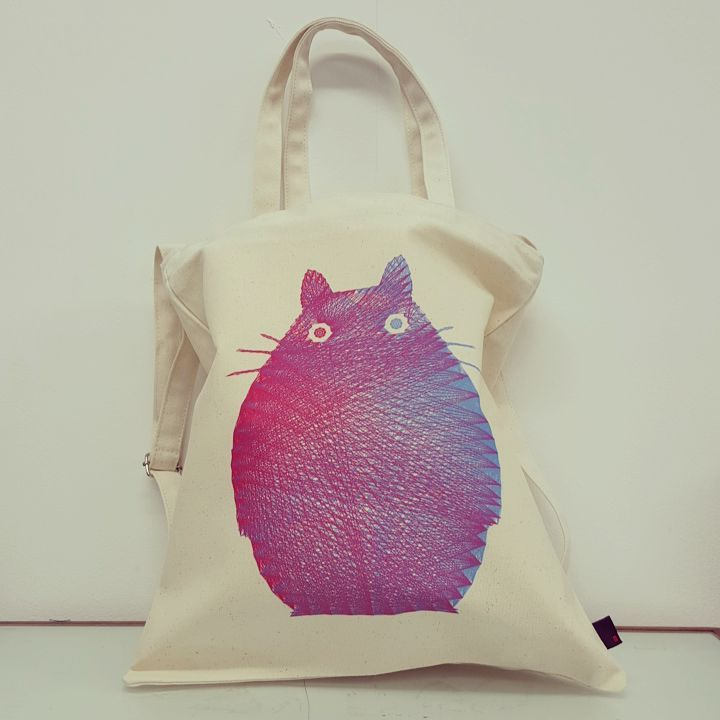 TOTORO / Designed by Fimbis (Ireland) / Made by OneRevolt.com / #에코백 #원리볼트 #디자인 #아티스트 #티셔츠 #토토로 #Totoro #캔버스백 #토트백