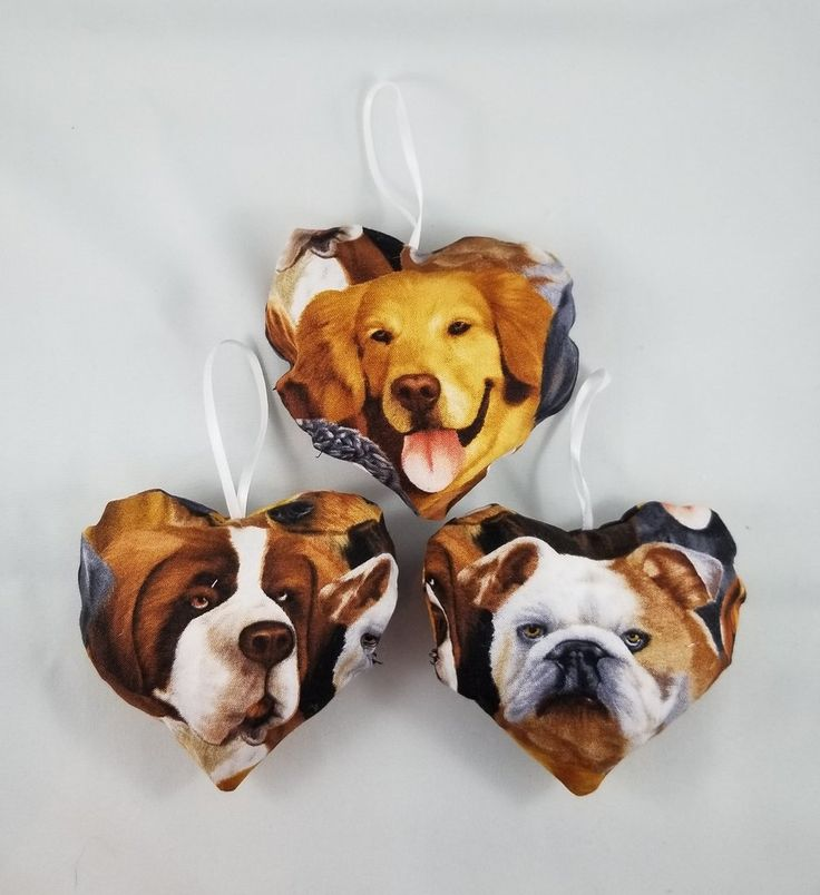 Dog Tree ornament  Don't have a ruff look tree, put so dogs on it.  How cool would these look on your holiday tree this year