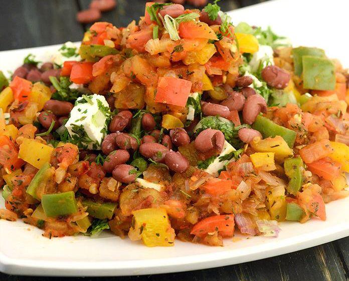 Recipe and Benefits of Mexican Salad in Marathi मेक्सिकन सलाड तयार करायची पध्दत व फायदे मराठी भाषेत