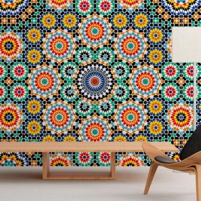 Padrão Marroquino mural - Casadart.pt
