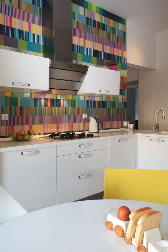Kitchen designed by Kristina Proksova in Prague