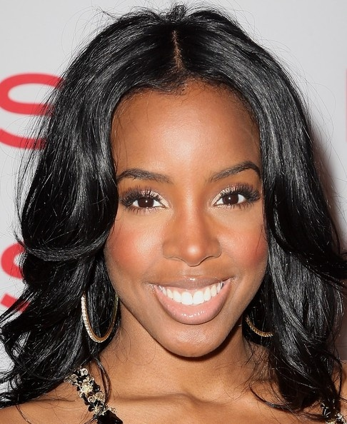 Kelly Rowland Layered Cut - Kelly Rowland Long Hairstyles ...