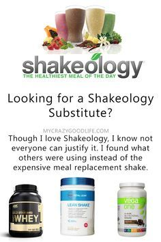 Though Shakeology is pretty awesome, I understand it's quite expensive too. If you're looking for a Shakeology substitute, here are a few that others are using.