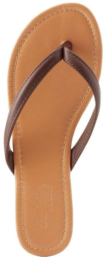 Charlotte Russe Strappy Flip Flop Sandals