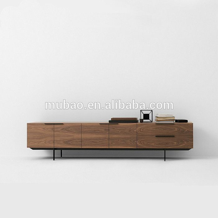 Multifunctional MDF Wooden Cabinet Designs,Modern TV Cabinet with Drawer