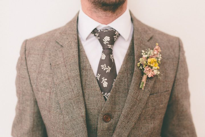 Tweed suit would make wonderful scarecrow groom for Wizard of Oz theme