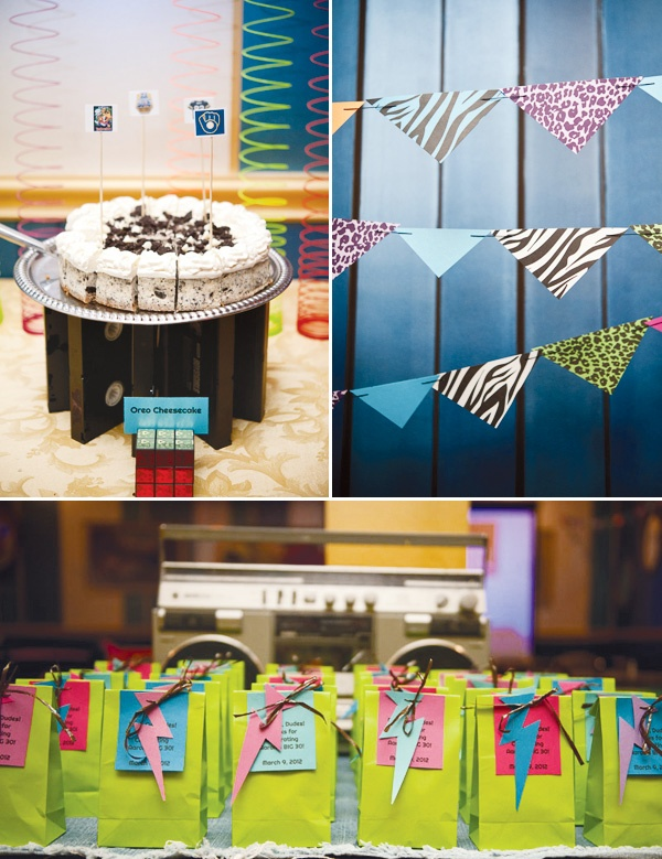 17 best images about 80s decorations on pinterest for 80 birthday party decoration ideas