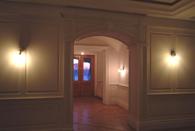 entrance hall wall panelling cheshire made in the uk by wall panelling experts