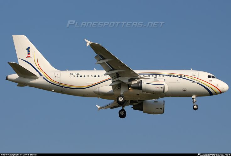 9M-NAA Royal Malaysian Air Force Airbus A319-115(CJ)