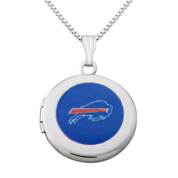 """Buffalo Bills Women's 18"""" Sterling Silver Necklace with Pendant - $54.99"""
