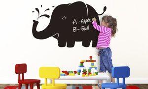 Groupon - Liitutaulu-seinätarrat lastenhuoneeseen eri mallivaihtoehdoissa alk. vain 8,95€ kaupungissa [missing {{location}} value]. Groupon-hinta: 8,95€