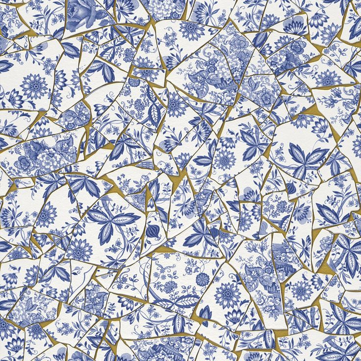 99 best Tapeten images on Pinterest Wall papers, Wallpapers and - goldene tapete modern design