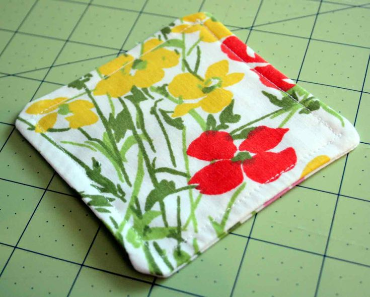 The Creative Place: Tuesday Tutorial: Fabric Coasters