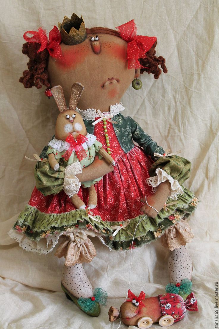 Купить Печалька... - комбинированный, текстильная кукла, ароматизированная кукла, интерьерная кукла, принцесса, ткань, синтепух