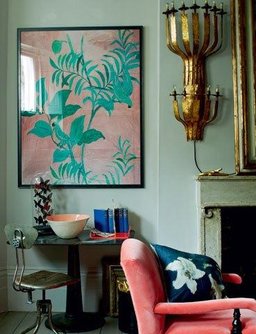 70 Best Peach Salmon Coral Interiors Images On Pinterest