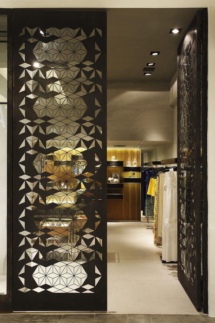 Design de interiores, projetos comerciais. Loja Aghan, Shopping Nova América - 2014. Retail - Shop Spaces - Rio de Janeiro.
