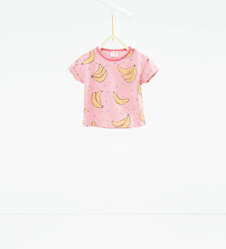 Banana T-shirt-T-SHIRTS-BABY GIRL | 3 months-3 years-KIDS | ZARA United States
