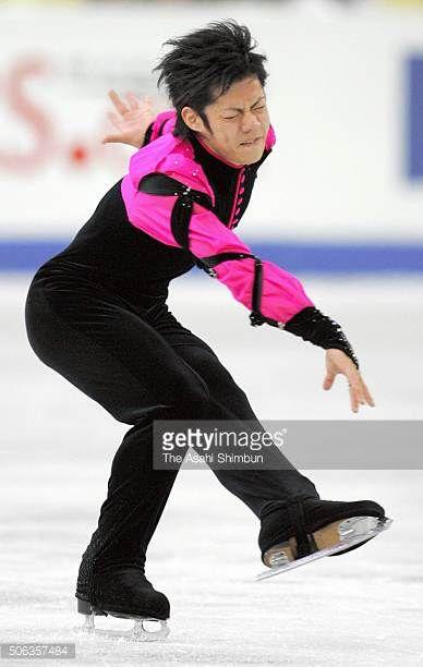 Daisuke Takahashi of Japan competes in the Men's Singles Short Program during day two of the ISU World Figure Skating Championships at Luzhniki...