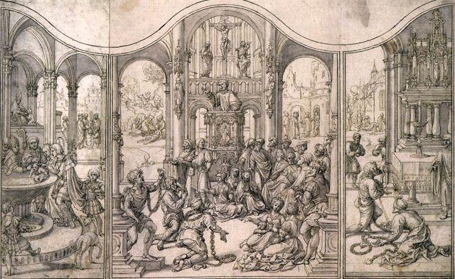 Σχεδιασμός για ένα τρίπτυχο (1520ς)