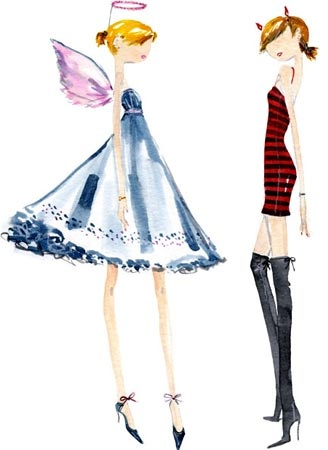 Daily Candy illustrator - Sujean Rim