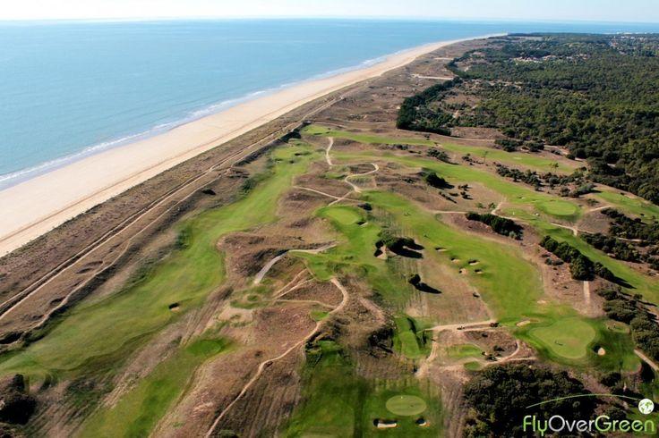 Golf de Saint-Jean-de-Monts, Vendée, Pays de la Loire, France. Vidéo aérienne sur FlyOverGreen / Aerial video on FlyOverGreen