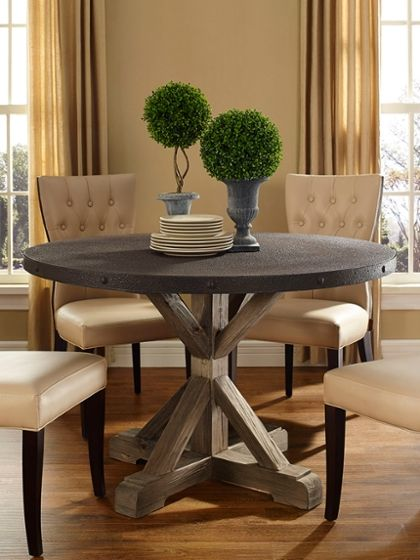 Shabby chic dining table for the room pinterest