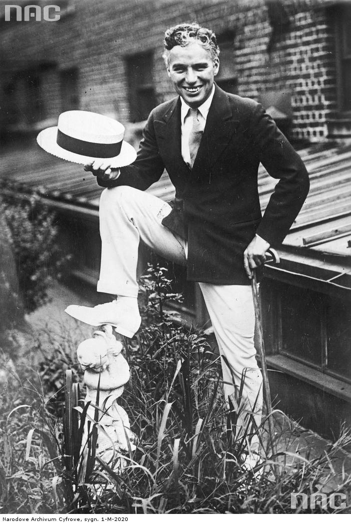 Charlie Chaplin, 1927-28.